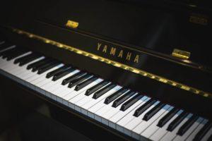 ヤマハのピアノの写真